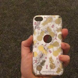 Hard marble 6/7 generation iPod case